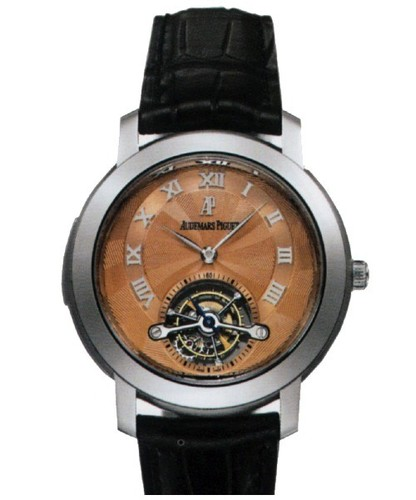 Audemars Piguet Jules Audemars Tourbillon Minute Repeater (Platinum / Silver / Leather)
