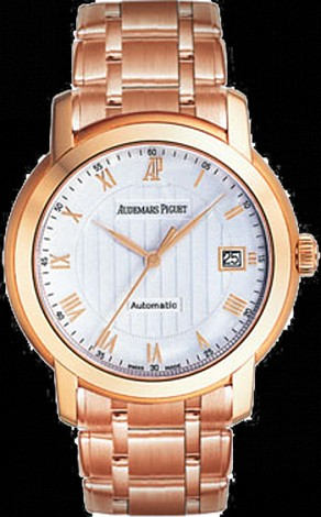 Audemars Piguet Ladies Jules Audemars Selfwinding 3 Hands Date 15157OR.OO.1229OR.01