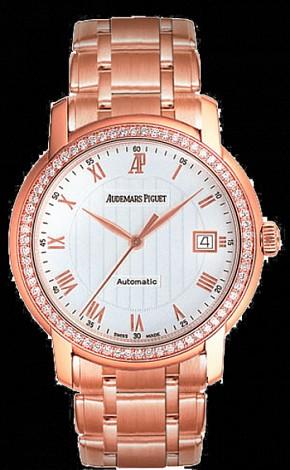 Audemars Piguet Ladies Jules Audemars Selfwinding 3 Hands Date 15158OR.ZZ.1229OR.01