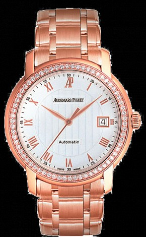 Audemars Piguet Ladies Jules Audemars Selfwinding 3 Hands Date 15158OR.ZZ.1229OR.01