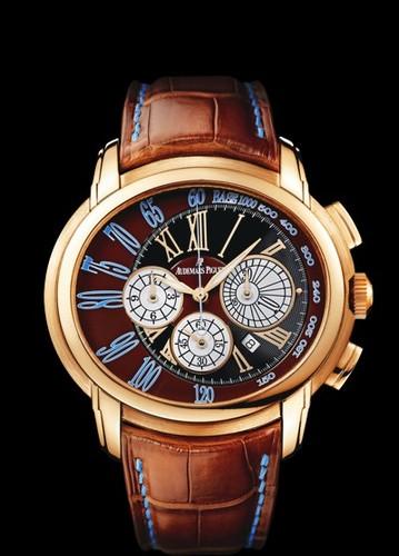 Audemars Piguet Milenary Chronograph (RG-Brown-Leather)