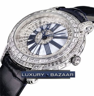 Audemars Piguet Millenary Baguette-Cut Diamonds Ladies (WG)