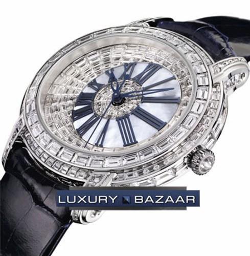 Audemars Piguet Millenary Baguette-Cut Diamonds Ladies (WG)