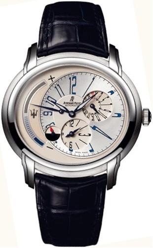 Audemars Piguet Millenary Maserati Dual Time (Platinum)