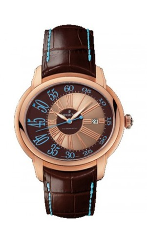 Audemars Piguet Millenary Novelty Automatic (RG / Brown / Leather)