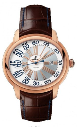 Audemars Piguet Millenary Novelty Automatic (RG / White / Leather)