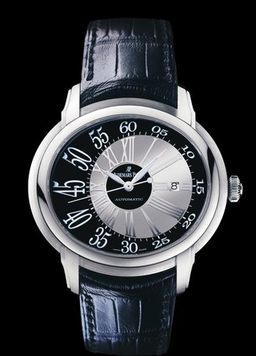 Audemars Piguet Millenary Novelty Automatic (WG / Black / Leather)
