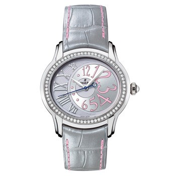 Audemars Piguet Millenary Novelty Ladies (SS / Silver / Leather Strap)