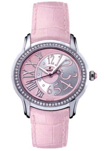 Audemars Piguet Millenary Novelty Ladies (Steel / Pink / Leather)