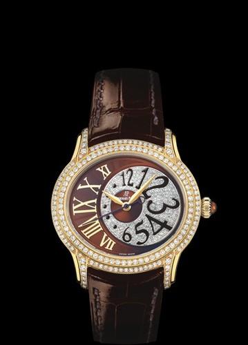 Audemars Piguet Millenary Novelty Ladies (YG / Diamonds / Leather)