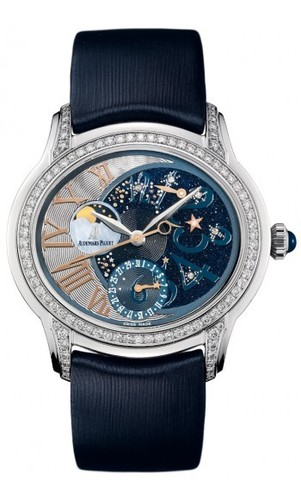 Audemars Piguet Millenary Starlit Sky Night Theme (WG Diamonds)
