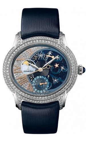 Audemars Piguet Millenary Starlit Sky Night Theme (WG Full Diamonds)