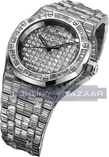 Audemars Piguet Million Dollar Lady Royal Oak (WG-Diamond / Diamond / WG-Diamond)