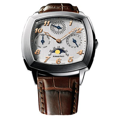 Audemars Piguet Museum Perpetual (Platinum / Silver / Leather)