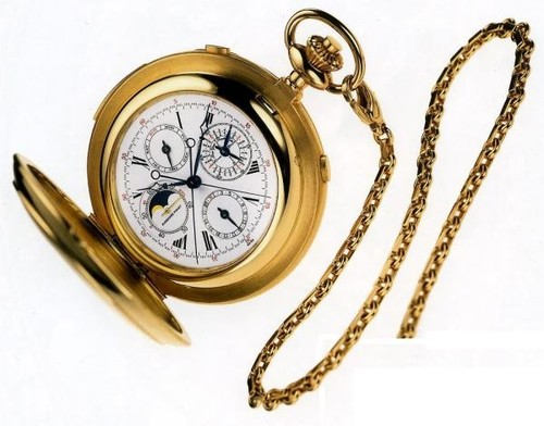 Audemars Piguet Pocket Watch Grand Complication (Yellow Gold)