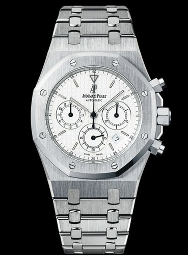 Audemars Piguet Royal Oak Chronograph (SS / Silver / SS)