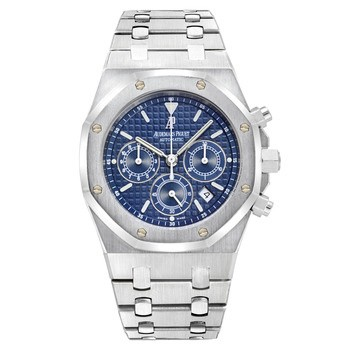 Audemars Piguet Royal Oak Chronograph (Steel / Blue / Steel)