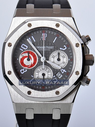 Audemars Piguet Royal Oak City of Sails (Platinum / Silver / Rubber)