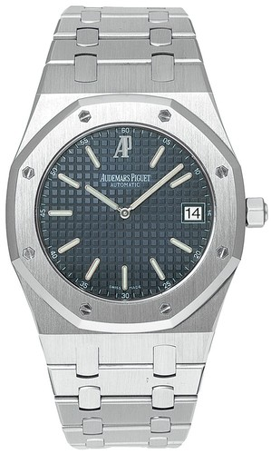 Audemars Piguet Royal Oak Date Jumbo (Steel / Black / Steel)