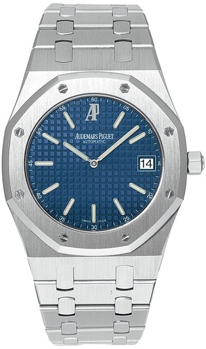 Audemars Piguet Royal Oak Date Jumbo (Steel / Blue)