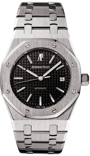 Audemars Piguet Royal Oak Date (SS / Black / SS Bracelet)