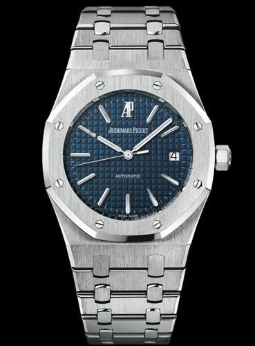 Audemars Piguet Royal Oak Date (SS / Blue / SS / 3120)
