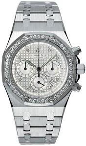 Audemars Piguet Royal Oak Jeweled Chronograph (WG / Diamonds / WG)