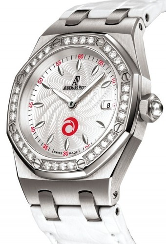 Audemars Piguet Royal Oak Ladies Alinghi Sertie (SS / Silver / Diamonds)