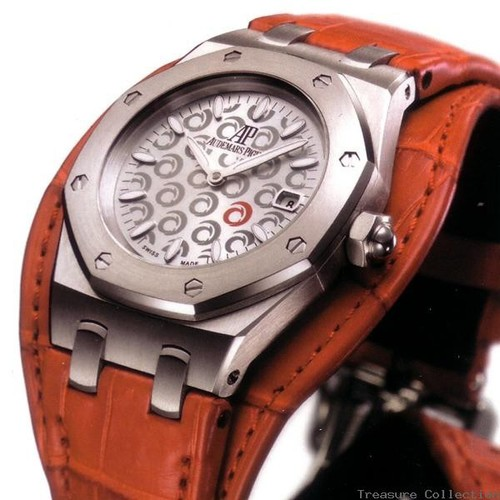 Audemars Piguet Royal Oak Ladies Alinghi (SS / Silver / Red Leather)
