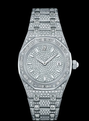 Audemars Piguet Royal Oak Ladies Pave (WG / Full Diamonds)