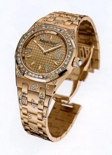 Audemars Piguet Royal Oak Lady (RG-Diamonds / Gold / RG-Diamonds)