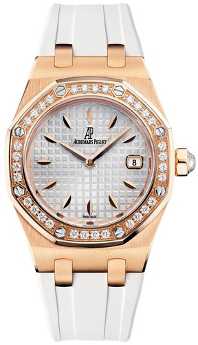 Audemars Piguet Royal Oak Lady (RG / Silver / RG)