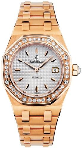 Audemars Piguet Royal Oak Lady (RG / Silver / RG Bracelet)