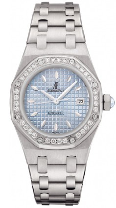 Audemars Piguet Royal Oak Lady (SS / Blue / SS)