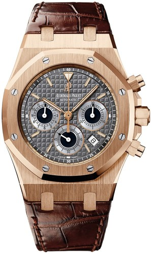 Audemars Piguet Royal Oak New Dial (RG / Grey / Leather)