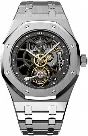 Audemars Piguet Royal Oak Openworked Extra-Thin Royal Oak Tourbillon 26511PT.OO.1220PT.01