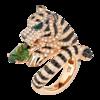 Boucheron Bagha, the tiger Pink ring Tourmaline