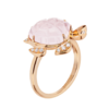 Boucheron Honu, the turtle pink, pink quartz
