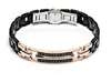 Мужской браслет Bracelet Baraka with Black Diamonds 'Ref: BR21487