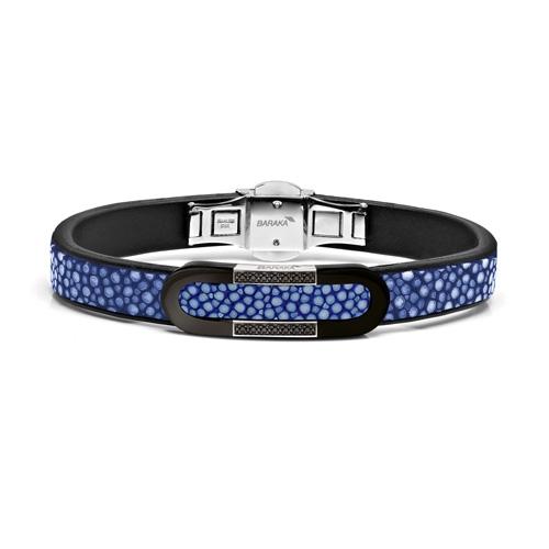 Мужской браслет Leather bracelet and diamonds Baraka 'Ref: BR23113