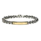 Мужской браслет Men's Bracelet in Stainless Steel Baraka 'Ref: BR25102