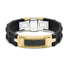 Мужской браслет Men's Bracelet With Diamonds Baraka 'Ref: BR25114