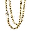 Мужская цепочка Chain in Gold and Steel Baraka 'Ref: GC25100
