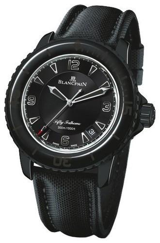Blancpain Fifty Fathoms (Black Steel / Black)