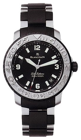 Blancpain Fifty Fathoms Diver (Steel / Black / SS-Rubber)