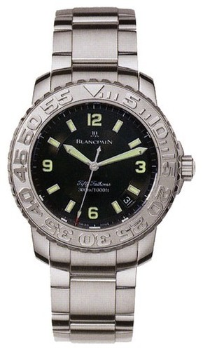 Blancpain Fifty Fathoms Diver (Steel / Black / Steel)