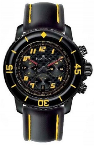 Blancpain Fifty Fathoms Speed Command (Yellow)