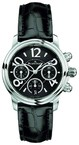Blancpain Flyback chronograph Ladies (SS/Black/Leather strap)