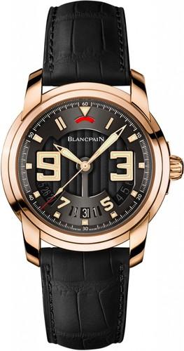 Blancpain L-evolution Automatique 8 Jours (RG/Black/Leather Strap)