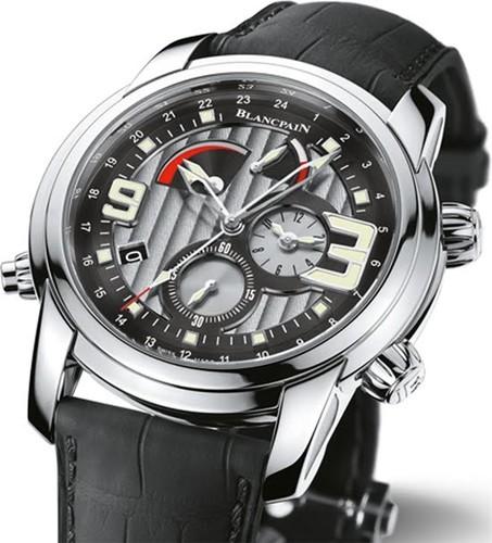 Blancpain L-evolution Automatique 8 Jours (SS/Silver/Leather Strap)